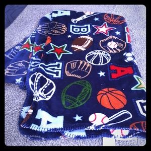Boys soft blanket